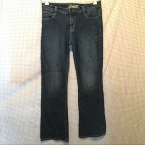 Old Navy Jeans - Old Navy Dreamer Blue Dark Wash Bootcut Jeans